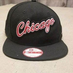 Chicago Bulls New Era LIFTED LOGO Snapback 9Fifty